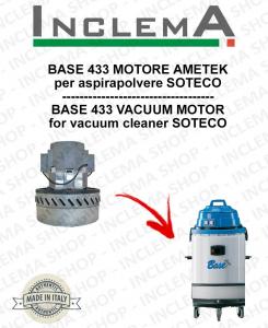 BASE 433 Ametek Saugmotor für Staubsauger SOTECO