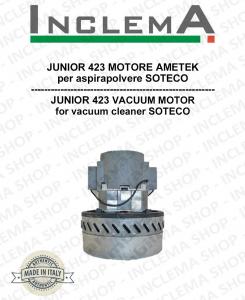 JUNIOR 423 Vacuum Motor Amatek for vacuum cleaner SOTECO