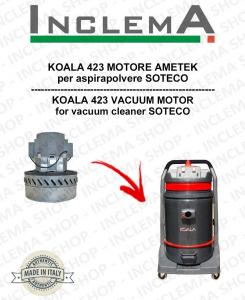 KOALA 423 Ametek Saugmotor für Staubsauger SOTECO