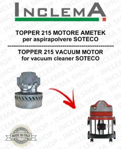 TOPPER 215 MOTORE ASPIRAZIONE AMETEK  per aspirapolvere SOTECO