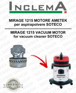 MIRAGE 1215 MOTORE ASPIRAZIONE AMETEK  per aspirapolvere SOTECO