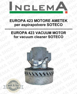 EUROPA 423 Vacuum Motor Amatek  for vacuum cleaner SOTECO