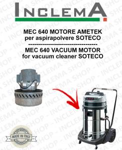 MEC 640 Ametek Saugmotor für Staubsauger SOTECO
