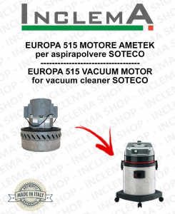 EUROPA 515 MOTORE ASPIRAZIONE AMETEK per aspirapolvere SOTECO