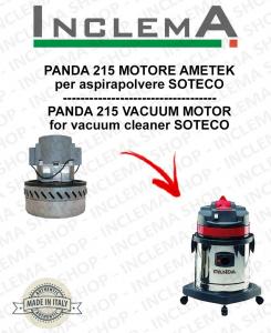 PANDA 215 MOTORE ASPIRAZIONE AMETEK per aspirapolvere SOTECO