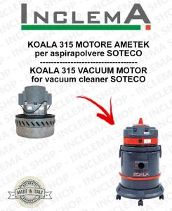 KOALA 315 MOTORE ASPIRAZIONE AMETEK per aspirapolvere SOTECO