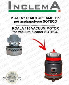 KOALA 115 MOTORE ASPIRAZIONE AMETEK per aspirapolvere SOTECO