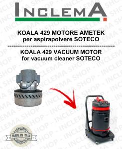 KOALA 429 MOTORE ASPIRAZIONE AMETEK per aspirapolvere SOTECO