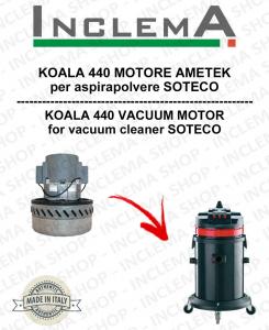 KOALA 440 MOTORE ASPIRAZIONE AMETEK per aspirapolvere SOTECO