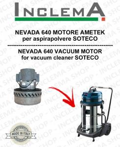 NEVADA 640  Ametek Saugmotor für Staubsauger SOTECO