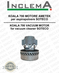 KOALA 700 Ametek Saugmotor für Staubsauger SOTECO