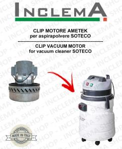 CLIP Ametek Saugmotor für Staubsauger SOTECO