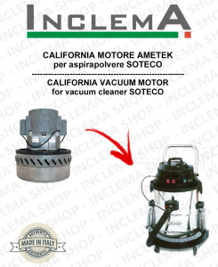 CALIFORNIA Vacuum Motor Amatek for vacuum cleaner SOTECO