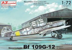 Me-109G-12 Aeronautica Nazionale Repubblicana (Italian National Republic Air Force 1943-1944)