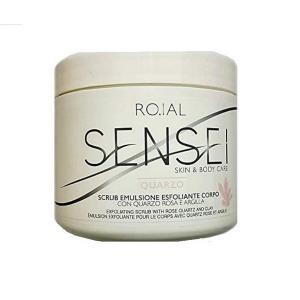 Roial Scrub Emulsione Esfoliante Corpo Quarzo