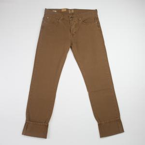 Pantalone cinque taste in cotone Tela Genova