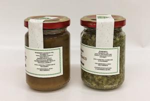 Salsa al Rabarbaro e Crema di Tarassaco - Az. Agr. S. Rovis- Avaglio (UD)