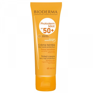 Bioderma Photoderm Max Tinted Cream Sensitive SKin Spf50+ Golden Colour 40ml