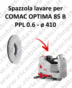 SPAZZOLA  in PPL 0.65 for Scrubber Dryer COMAC OPTIMA 85B-2