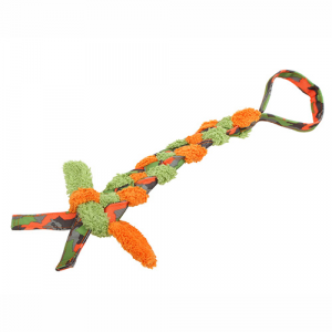 GALLEGGIANTE GIOCO CON PLUSH BRAID MAJORDOG