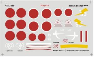 Hayate Japanese Army Fighter Ki-84