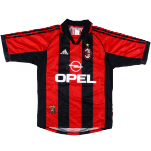 1998-00 AC MILAN HOME SHIRT  M *Brand New