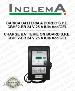 CARICA BATTERIA A BORDO CBHF2-BR IUIa WET/GEL S.P.E.