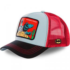 Berretto Capslab By Freegun Justice Legue Batman E Robin Red/Black CL/DC2/1/MEM1