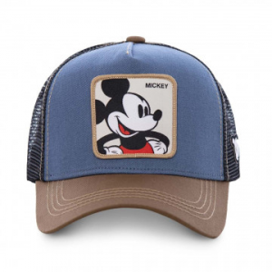 Berretto Capslab By Freegun Disney Mickey Brown/Blue/ CL/DIS/1/MIC1