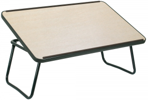 Vassoio da letto con leggio legno chiaro