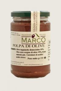 Polpa di olive taggiasche