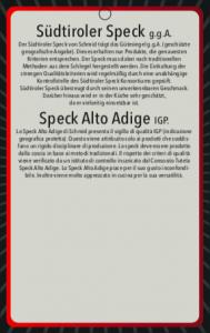 Speck Alto Adige IGP cuore - 450gr ca