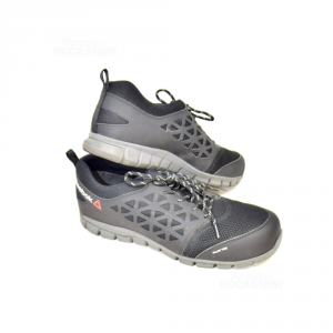 Scarpe Antifortunistica Reebok Memory Tech Alloy Toe Nere N 46