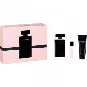 Narciso Rodriguez For Her Eau De Toilette Spray 100ml Set 3 Parti 2019