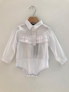 Camicia bianca con body