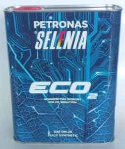 Olio Selenia ECO2 SAE 0W-20 ACEA C5 confezione lt 2