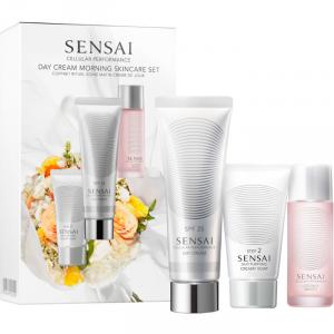 Sensai Day Cream Morning Skincare Set 3 Parti 2019
