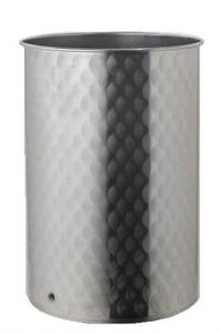 Contenitore in acciaio inox 18/10 da lt.30 a lt.1000