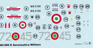 NH-500E Aeronautica Militare