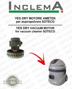 YES DRY Ametek Saugmotor für Staubsauger SOTECO