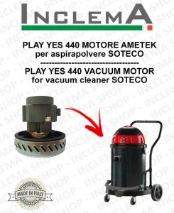 PLAY YES 440 Ametek Saugmotor für Staubsauger SOTECO