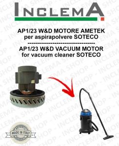 AP1/23 W&D Ametek Saugmotor für Staubsauger SOTECO