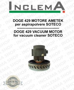 DOGE 429 Vacuum Motor Amatek for vacuum cleaner SOTECO