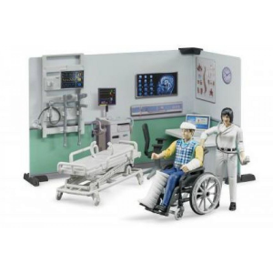 BRUDER AMBULATORIO MEDICO CON ACCESSORI 62711