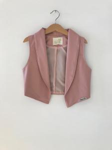 Gilet rosa