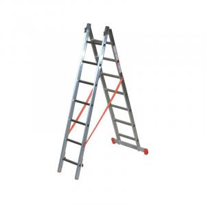 Scala Alluminio Componibile Genia 2 rampe