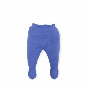 Ghettina azzurra con vita elasticizzata