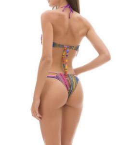 Bikini fascia e slip fianco Rainbow Changit