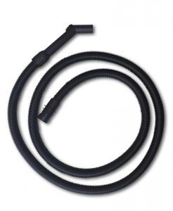 Tubo aspirapolvere lungo 5 metri con manicotti valido per IPC Kit ø36