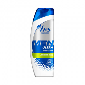 H&S Men Ultra Purifying Shampoo 600ml
